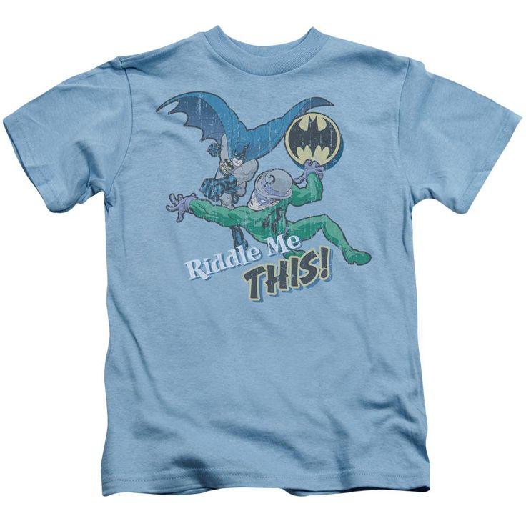 Batman - Riddle Me This Short Sleeve Juvenile 18/1