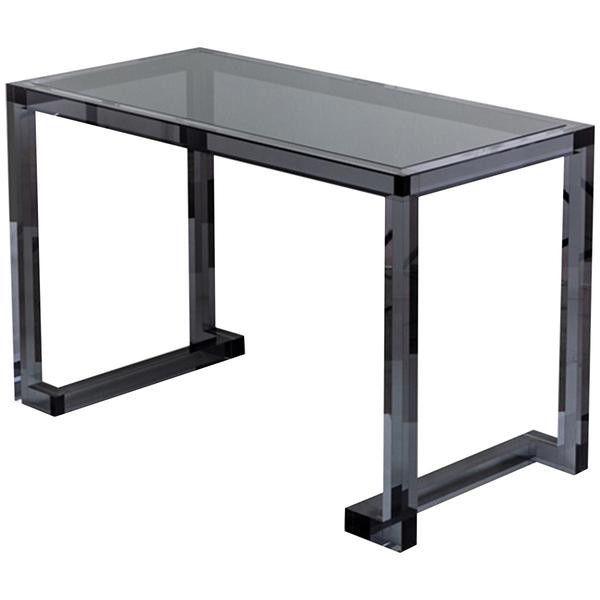Interlude Home Ava Acrylic Clear Desk