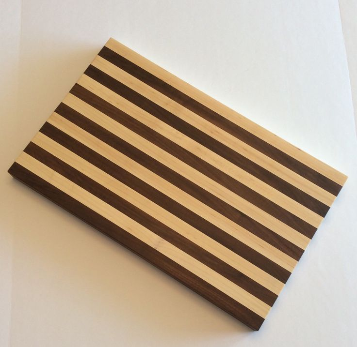A personal favorite from my Etsy shop https://www.etsy.com/ca/listing/237703890/wooden-cutting-board-maple-and-walnut