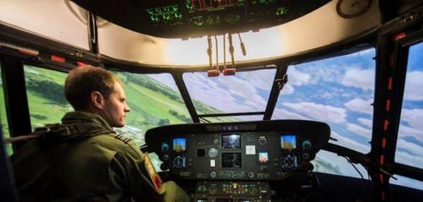 Britain's Ministry of Defense is investing in its helicopter simulation training center for military helicopter pilots at a Royal Air Force…