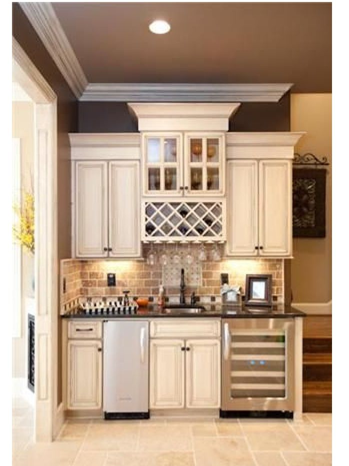 wet bar coffee bar kitchen house living pinterest kitchen small small kitchens and cabinets. Black Bedroom Furniture Sets. Home Design Ideas