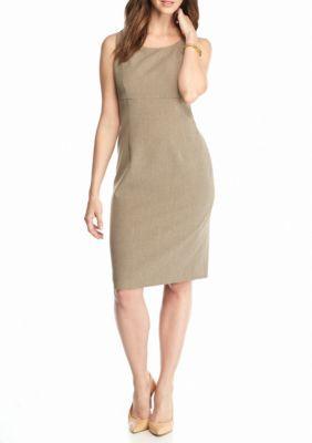 Kasper Women's Sleeveless Dress - Brown - 16