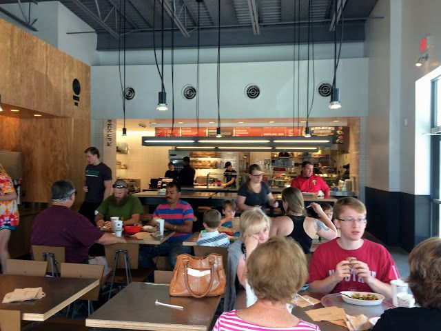 Grand Opening: Chipotle Restaurant Review - Fuquay Varina, NC