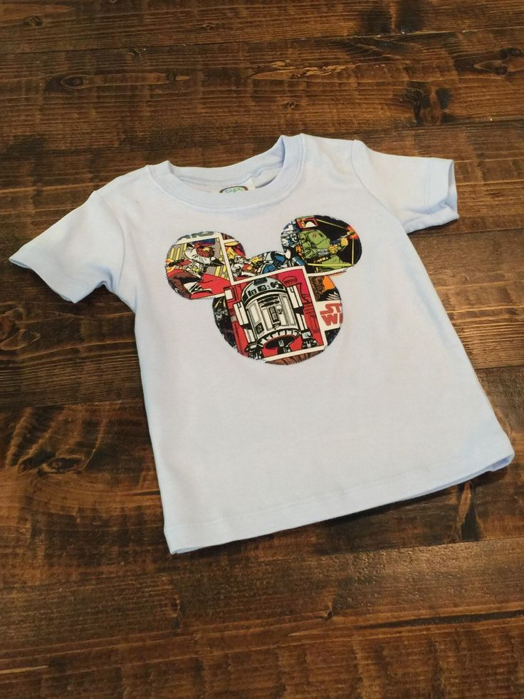 A personal favorite from my Etsy shop https://www.etsy.com/listing/287374981/star-wars-shirt-12mo-disney-star-wars