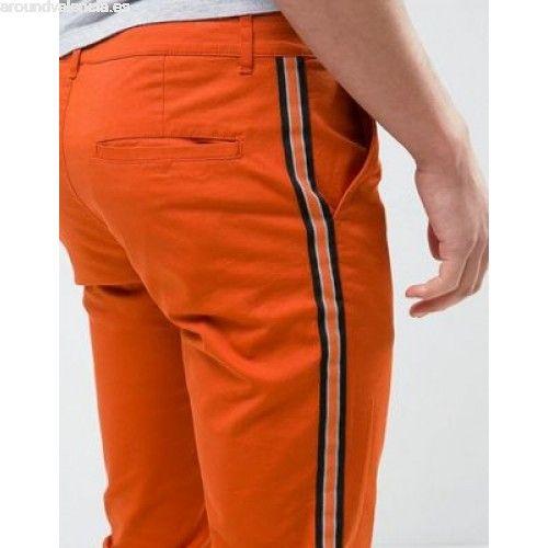 Resultado de imagen de pantalones de vestir de hombre con raya lateral