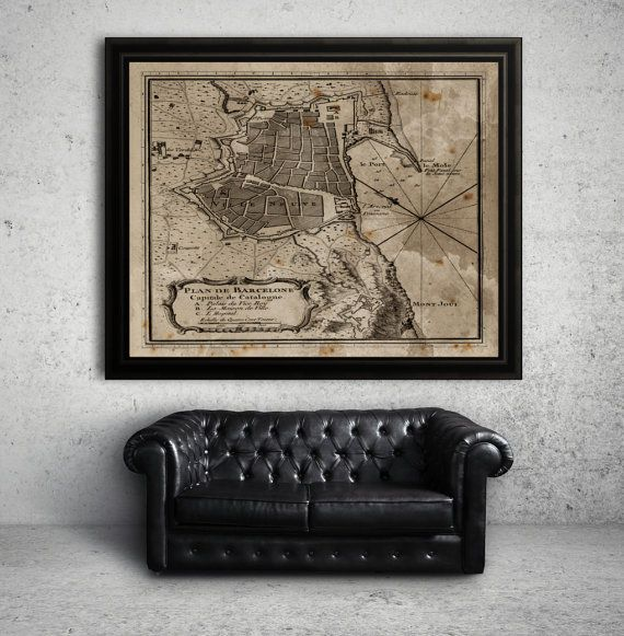 1000 Images About Restoration Hardware Style Map Prints