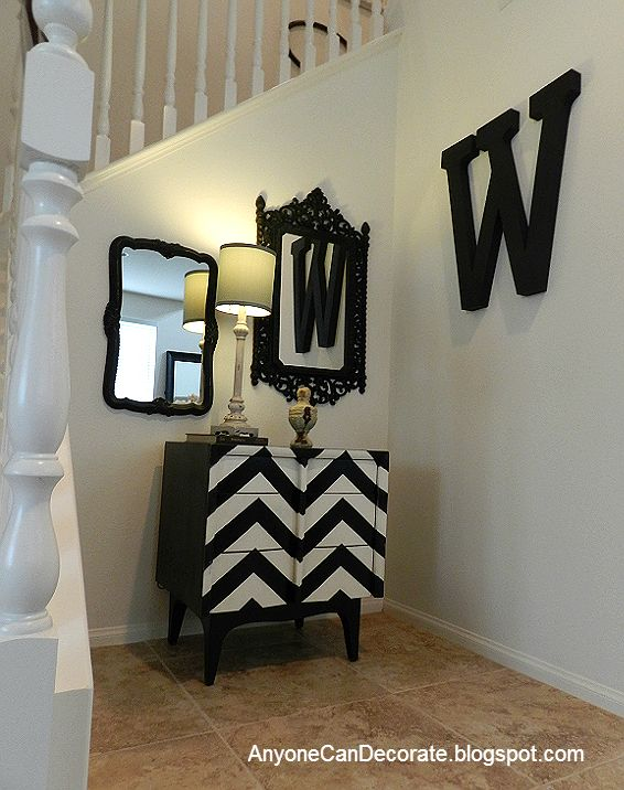 DIY 5 dollar Wall Art - Decorating with Letters