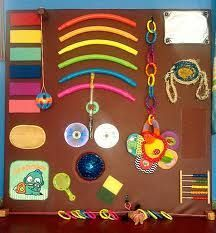 sensory board for babies - Google Search