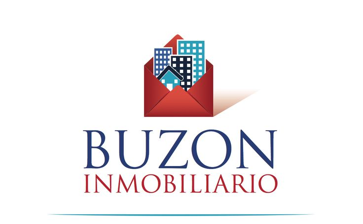clever logo for Buzon Inmobiliario or Real Estate Mailbox in english... by thelogoboutique.com