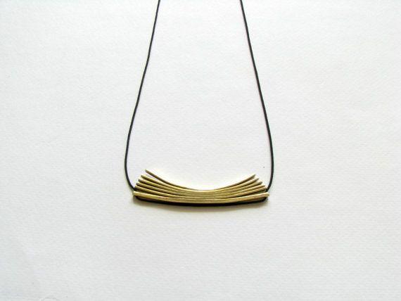 Gioielli moderni oro istruzione minimalista di SotiriaVasileiou