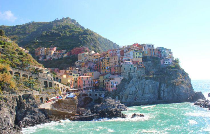 Manarola, Cinque Terre we Włoszech http://wlochy.praktycznyprzewodnik.eu/regiony-wloch/liguria/manarola/