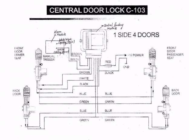 16 Car Center Lock Wiring Diagram Car Diagram Wiringg Net