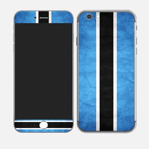 #iPhone6plus Flag of Botswana http://skin4gadgets.com
