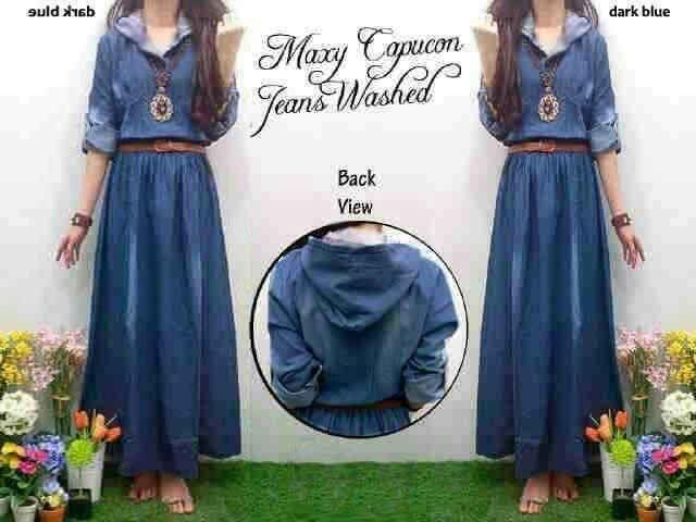 http://pho.to/7HS5H/u1  Maxi Jeans Kapucong + Belt Size : Fit XL Harga Seri  : @Rp 110.000 Harga Ecer : @Rp 120.000