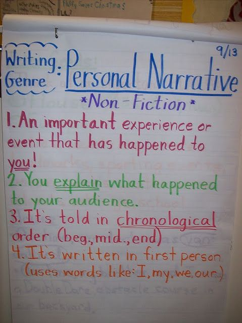 narrative essay about personal experience