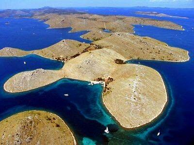 Kornat, island