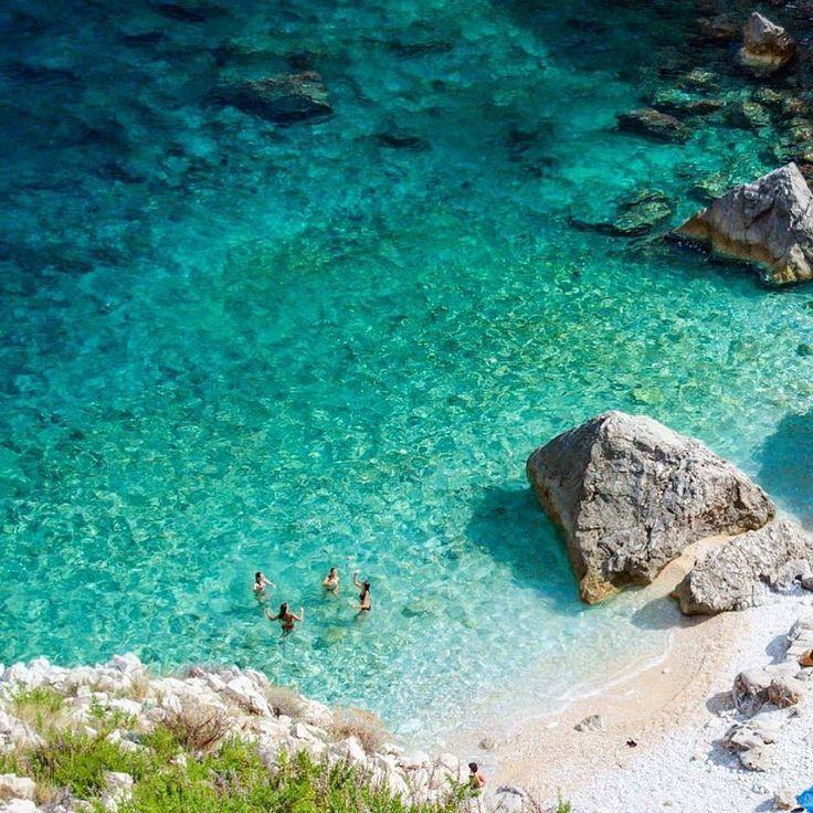 The island of  Cres, Croatia