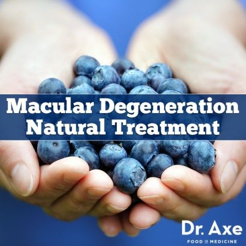 6 Natural Treatments for Macular Degeneration