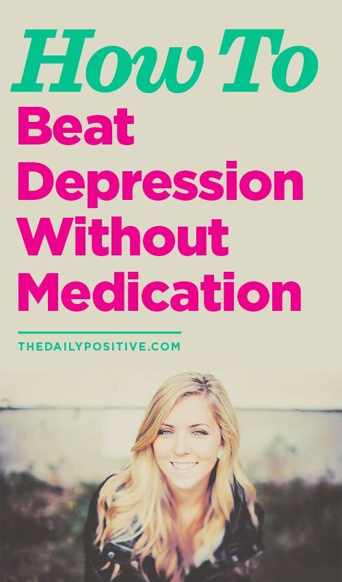 While not for everyone, there are tactics you can practice to help overcome your depression without medication. Read this interesting take on how you can.