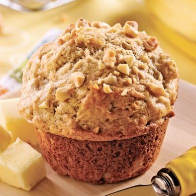 Muffins aux bananes et beurre d'arachide - Recettes - Cuisine et nutrition - Pratico Pratiques