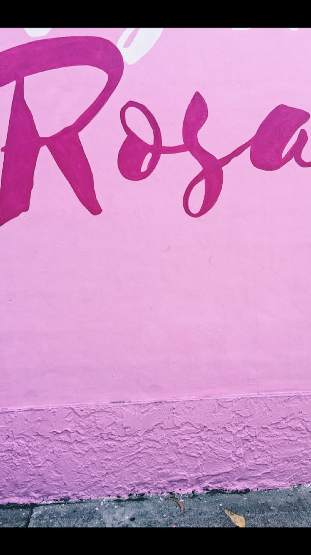Rosa Miami Street Art