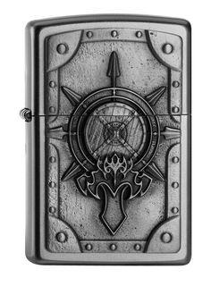 Aansteker Zippo Battle Shield