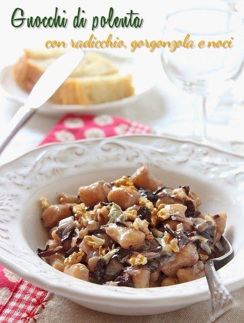 Saltando in padella: Taste&More - Gnocchetti di polenta con radicchio, ...