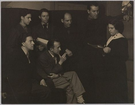 Gisèle Prassinos reads her poems by Man Ray