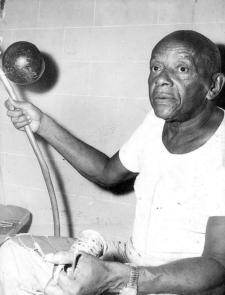 Mestre Bimba  is the father of the style of Capoeira known as Regional. He was born Manuel dos Reis Machado in 1900;