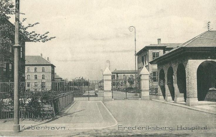 Frederiksberg hospital 1906