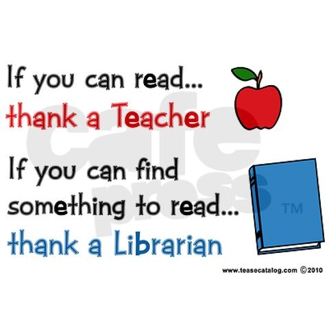 True!!! Many of my still most favorite books were introduced to me by my magnificent elementary school librarian Mrs. Condie.
