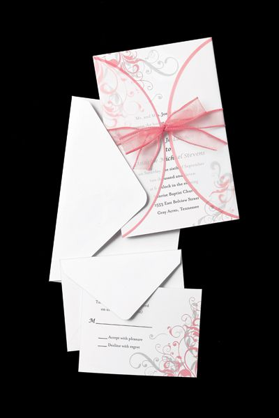 His & Hers Studio Wedding Invitations