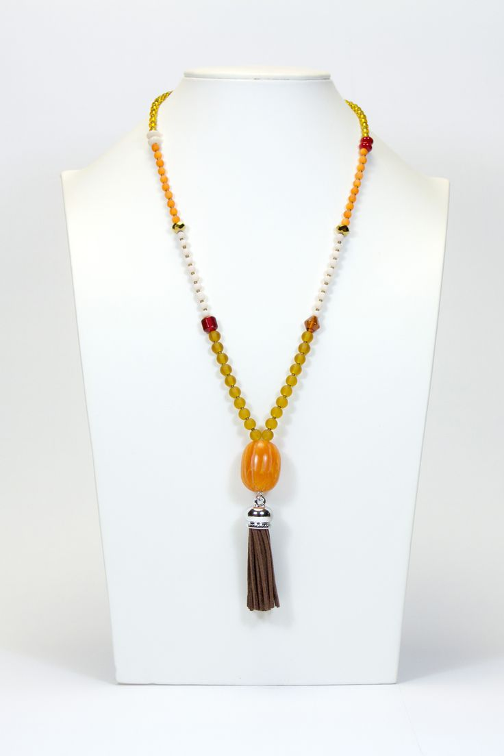 Collier couleurs d'automne #gadhorre #jewelry