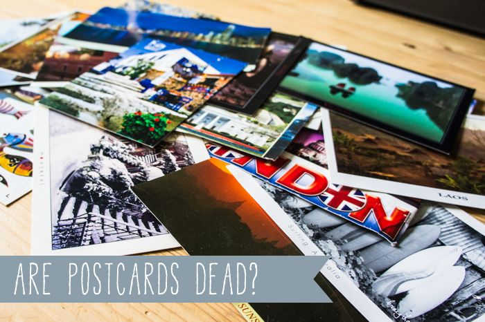 Are Postcards Dead? :: Zijn Ansichtkaarten Dood? by The Travel Tester I collect postcards from everywhere I go.  They are a great memory of the visits.  For an added bonus, mail one home to you so you have the postmark from the location.