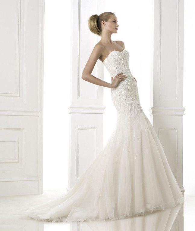 Best designer pronovias bridal images on pinterest
