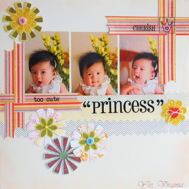 love the border strips around the photosLayout Ideas, Scrapbook Layout