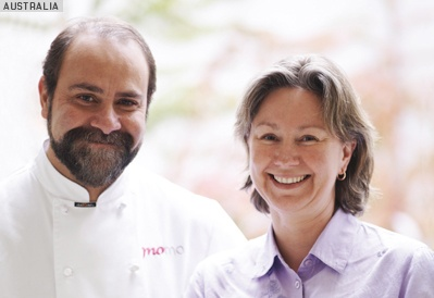 Chef Greg Malouf and his wife Lucy Malouf.