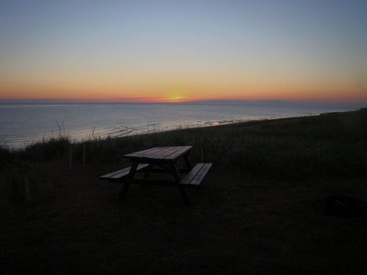 Sight from one of our campsites. Twin Shores Camping Area Darnley, Prince Edward Island