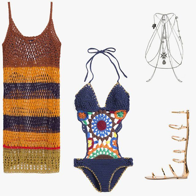 636 best croptop, halter top images on Pinterest | Crochet, Crochet ...