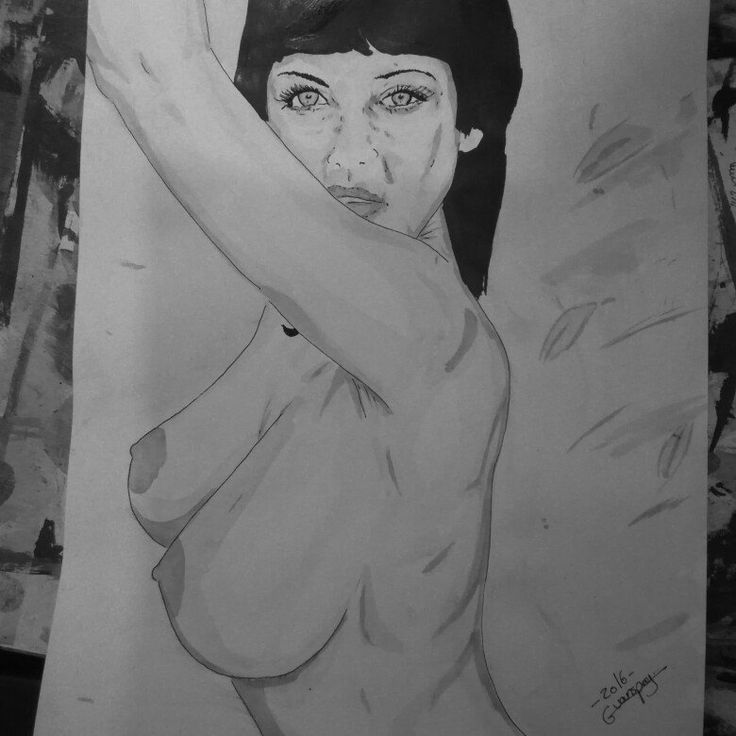5th drawing of today  India ink and ink wash A4 #art #artist  #fineart  #eroticart #sexy #pencil #drawing #erotic #painting