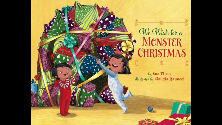 Official book trailer for We Wish for a Monster Christmas by Sue Fliess. Dear Santa: please bring us a MONSTER for Christmas! This hilarious parody of the traditional carol stars two siblings who want something just a little more special than the usual toys for their Christmas gift. Mom and Dad refuse—so they appeal to a higher power: Santa. And he delivers. But having a monster in the house may not be all it's cracked up to be . . . Delighted readers will sing along with the merry song.