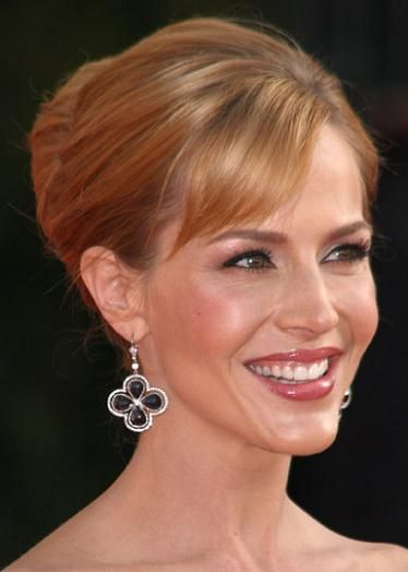 french twist hair | Julie Benz's French Twist Hairstyle « VIP Hairstyles