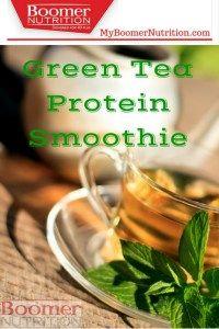 GreenTea Protein Smoothie Boomer Nutrition