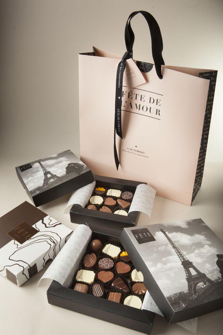 The seductive Valentines collection from La Fête. #lafetechocolat