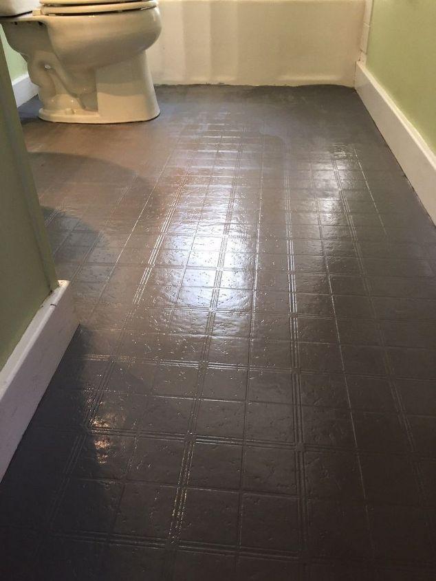 Bathroom Floor Tile Or Paint Bathroom Ideas Diy Flooring