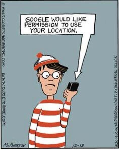 Where's Waldo?<<having an existential crisis