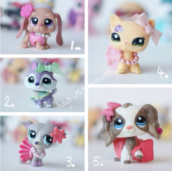 LPS Fashion Show. Who will u vote? Comment of who will u vote? i'll announce the winner in the comments :)