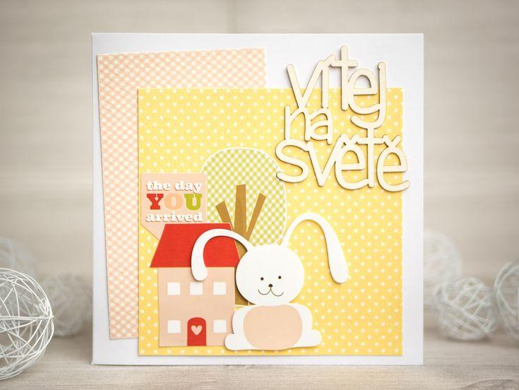 Dianka Kreativity: BABY CARD: Velká inspirace pro malé princezny, Carta Bella - It's a Girl
