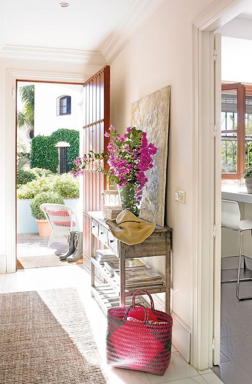 Beautiful and Bright Entryway