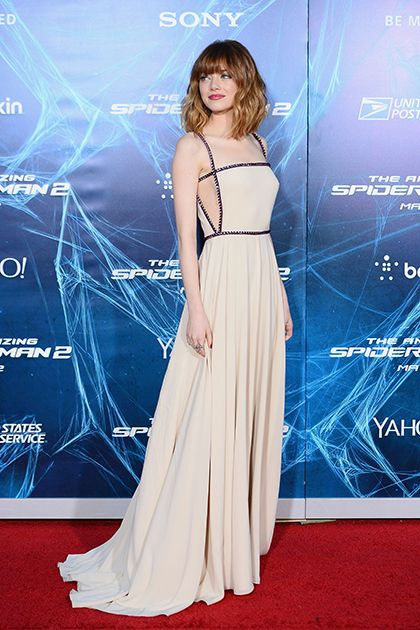 Emma Stone attends to NY Premiere of the Amazing Spiderman 2 (2014)
